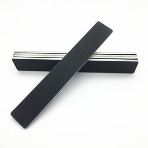 Sanding Sponge Black Emery Board Sandpaper Polish Manicure Tool Accessories