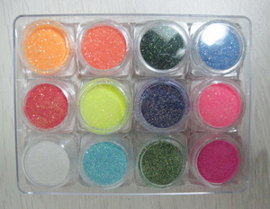 Colorful Nail Art Glitter Powder for Beauty Nail Tips