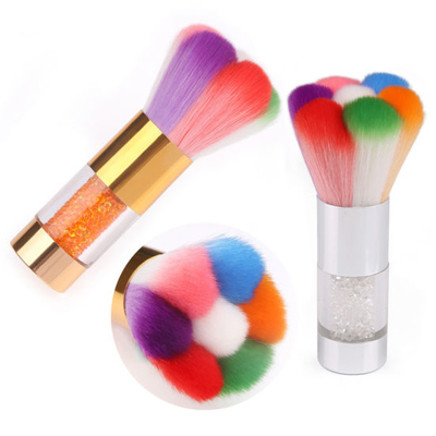 Diamond Nail Cleaning Brush Soft Nail Art Dust Cleaner Brush