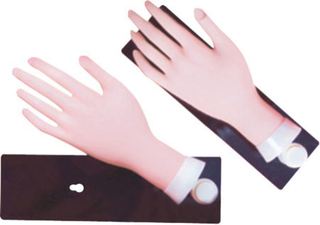 Movable Training Hand for Nail Art