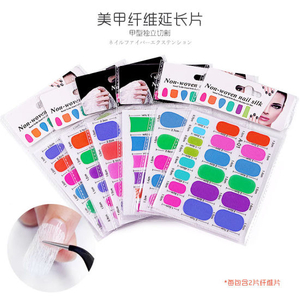 Silk Nail Sticker Anti Damage Strong Protect Reinforce Extension Sticker