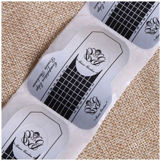 Nail Form Tips Guide Extension Sticker for Acrylic UV Gel