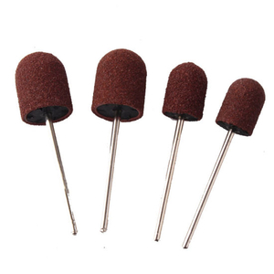 Professional Nail Sanding Cap Ring for Manicure Rubber Drill Bit