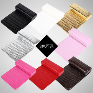 PU Leather Hand Arm Rest Cushion Nail Art Soft Pillow