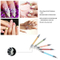 Nail Art Silicone Brush 5PCS Painting Pencil Dual-Head Manicure Tool