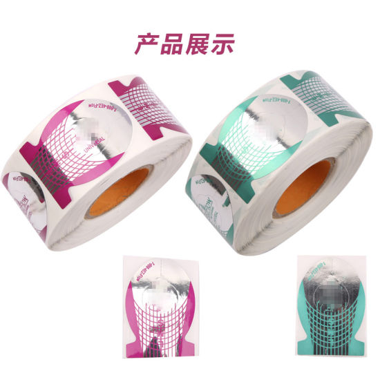 Fish Shape Nail Form DIY Nail Gel Curl Forms