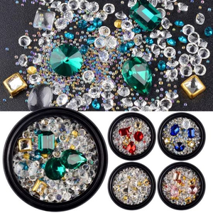 Mixed Nail Jewelry Diamond for Nail Art Decorations