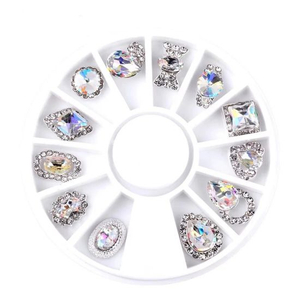 Shiny Nail Rhinestone Crystal Glitter Diamond Jewelry Nail Art Decoration