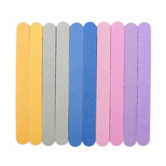 Soft Sponge Nail Art Tips Buffer Double Side Block Buffing