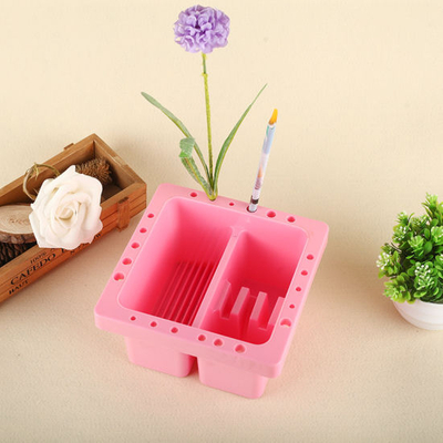 Professional Nail Brush Cleaner Nail Art Brush Pot Tool Accessories