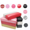 Leather Hand Arm Rest Semicircle Cushion Pillow Nail Art Design