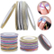 Frosted Color Self Adhesive Stripping Tape for Nail Art