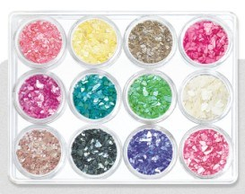 Nail Beauty Shell Powder Set