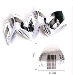 Professional Unguis Shape Nail Form for Nail Extension Nail Forms