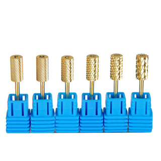 Smooth Top Safety Nail Art Nail Drill Bits Manicure Tool